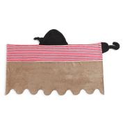 Demdaco Baby Hooded Bath Towel, Pirate