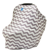 Org Store Premium Stretchy Car Seat Cover Canopy | Nursing Cover for Breastfeeding Moms | Grocery Cart & Highchair Cover