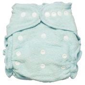 Imagine Baby Products Fitted Bamboo Nappy 2.0, Indigo, Snap