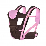 AnciTac Baby Carrier Backpack 4 Carrying Positions Ergonomic Baby Sling Carrier for Infants/Toddlers, Baby Shower Gift