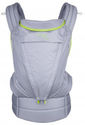 Onya Baby Pure Baby Carrier - Macaw Green/Granite