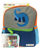 Alphabetz Kids Dinos Backpack and Safety Harness