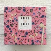 Carousel Baby Memory Book