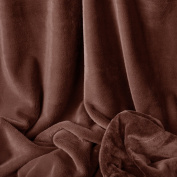 Bunnysoft Deluxe Baby Blanket, Chocolate
