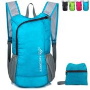 Lightweight Foldable Rucksack Outdoor Packable Backpack Ultralight Waterproof Sport Bag Travelling Climbing Hiking Cycling Rucksack Daypack- 18L