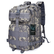 G4Free 40L Tactical Backpack Army Military Molle Rucksack for Outdoor Hiking Camping Travelling