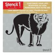 Lion Stencil 15cm x 15cm