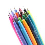 Le Pen 20 Colour Fine Line Marker Pen Set