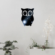Clearance!! ZOMUSA 3D Owl Mirror Vinyl Removable Wall Sticker Decal Home Art Decor