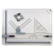 MyLifeUNIT A3 Drawing Board, Drafting Board with Assorted Drawing Drafting Tools