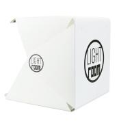 Mromick LED Light Room Backdrop Cube Mini Box- Photo Studio Photography Lighting Tent Kit