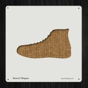 Shoe Foot Footwear Sneaker Tennis Style 19610 DIY Plastic Stencil Acrylic Mylar Reusable