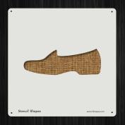 Shoe Formal Flat Shoes Style Style 19607 DIY Plastic Stencil Acrylic Mylar Reusable