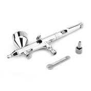 0.2MM Gravity Feed Dual-action Airbrush Kit for Cake Decorating/Makeup/Nail Art