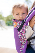 Baby Tula Coast Toddler Baby Carrier with Mesh Panel - Hyacinth
