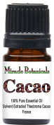 Miracle Botanicals Cacao Absolute Oil - Hexane Free Extraction - 100% Pure Theobroma Cacao - Therapeutic Grade - 5ml