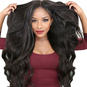 Ms Fenda High Density Lace Front Wigs 250% Density Brazilian Remy Human Hair Natural Hairline Wigs with Baby Hair and Adjustable Strap