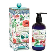 Michel Design Works Scented Hand & Body Lotion with Shea Butter, Wild Berry Blossom