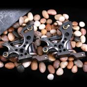 2 PCS Compass Tattoo Machine Plata Liner Fuego Shader Gun For Tattoo Kit 2062+2062-1