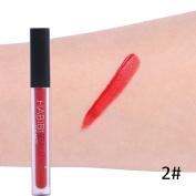 Liquid Matte Lip Gloss Waterproof Non-stick Cups Lip Stick Lips Beauty Makeup 12 Colours