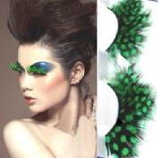 Iusun Fashion Feather False Eyelashes Soft Long Eye Lashes Makeup Party Club