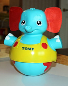Tomy Toys Tap N' Toddle Elephant by TOMY