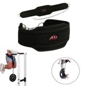 ARD Neoprene Dipping Belt Weight Lifting Belt Gym Belt Excercise Belt Heavy Chain Black