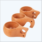 SQL 3pcs beech hand cups coffee cups can carry travel cups 100-200ml