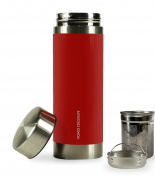 Yoko Design 1405 Insulated Stainless Steel Teapot Red 20 X 6 X 6 cm