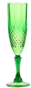 Set 3 Plastic Champagne Flutes Dishwasher Safe Break Resistant Acrylic Coloured Champagne Flutes Great for Outdoor Dining