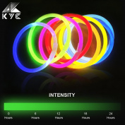 Glowsticks KYC 100 20cm Light Up Glow Sticks Bracelets Light Stick Party Favour Pack Snaplight Mixed Colours Supplies