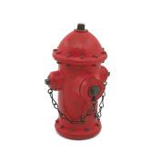 Ornerx Resin Fire Hydrant Piggy Bank Money Box