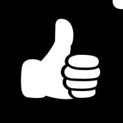 Glimmer Body Art Glimmer Tattoo Stencil - Emoji Thumbs Up