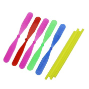 ICould 12pcs Plastic Bamboo Dragonfly Propeller Outdoor Toy Kids Children Gift Flying
