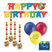 Curious George Party Decorations by Party Tableware Today