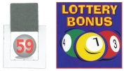 Set of Lottery Bonus Ball Tickets 1-59