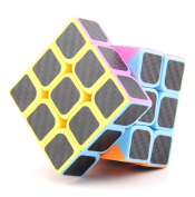 Speed Cube 3x3 Stickerless Magic Cube The Cube Turns Quicker and More Precisely
