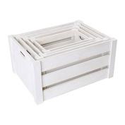 Legler Wooden Box in white Children's Furniture