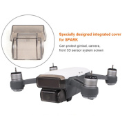 Flycoo Gimbal and camera protection of DJI Spark Lens and 3D Sensing System Protector - Anti-collision Dustproof Waterproof Anti-scratch Cap