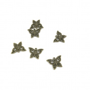 Price per 210 Pieces Jewellery Making Supply Charms Findings Filigrees T5TE2T Butterfly Antique Bronze Findings Beading Craft Supplies Bulk Lots