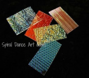 COE 96 DichroMagic 0.2kg Dichroic Jeweller's Scrap CLEAR Standard Fusing Supplies