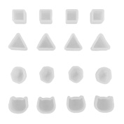 Honbay 16pcs Tiny Silicone Jewellery Earring Necklace Pendant Mould Casting Mould Jewellery Making DIY Craft Tool