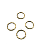 Price per 50 Pieces Jewellery Making Supply Charms Findings Filigrees D3TC1W Jump Rings 19mm Antique Bronze Findings Beading Craft Supplies Bulk Lots