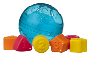 Playgro 4086169 Roll and Sort Ball Blue for Baby