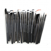 20pcs Make Up Brush Set - Face and Eye Makeup For Powder, Blush, Concealer Eyeshadow