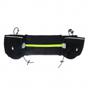 MagiDeal Running Cycling Hiking Unisex Sports Water Bottle Holder Waist Belt Bum Bag