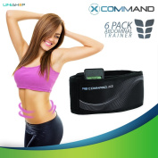 X-Command by LifeShop - Abdominal Training and Contour Belt for Firm Ab Muscles - Advanced Muscle Conditioning Technology with Integrated Flex Mechanism Controller - Batteries Not Included