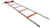 Gymstick 61077 Speed Ladder - Black/Red, 590 cm