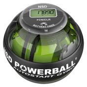 New NSD Power ball 280Hz Autostart Pro Hand grip Exerciser & Forearm Exerciser, Strengthens Forearm Muscles, Rehabilitates Wrist Pain and Wrist Fractures