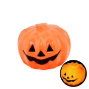 Euone Halloween Decorative Supplies Small Colour Glowing Pumpkin Ghost Light Child